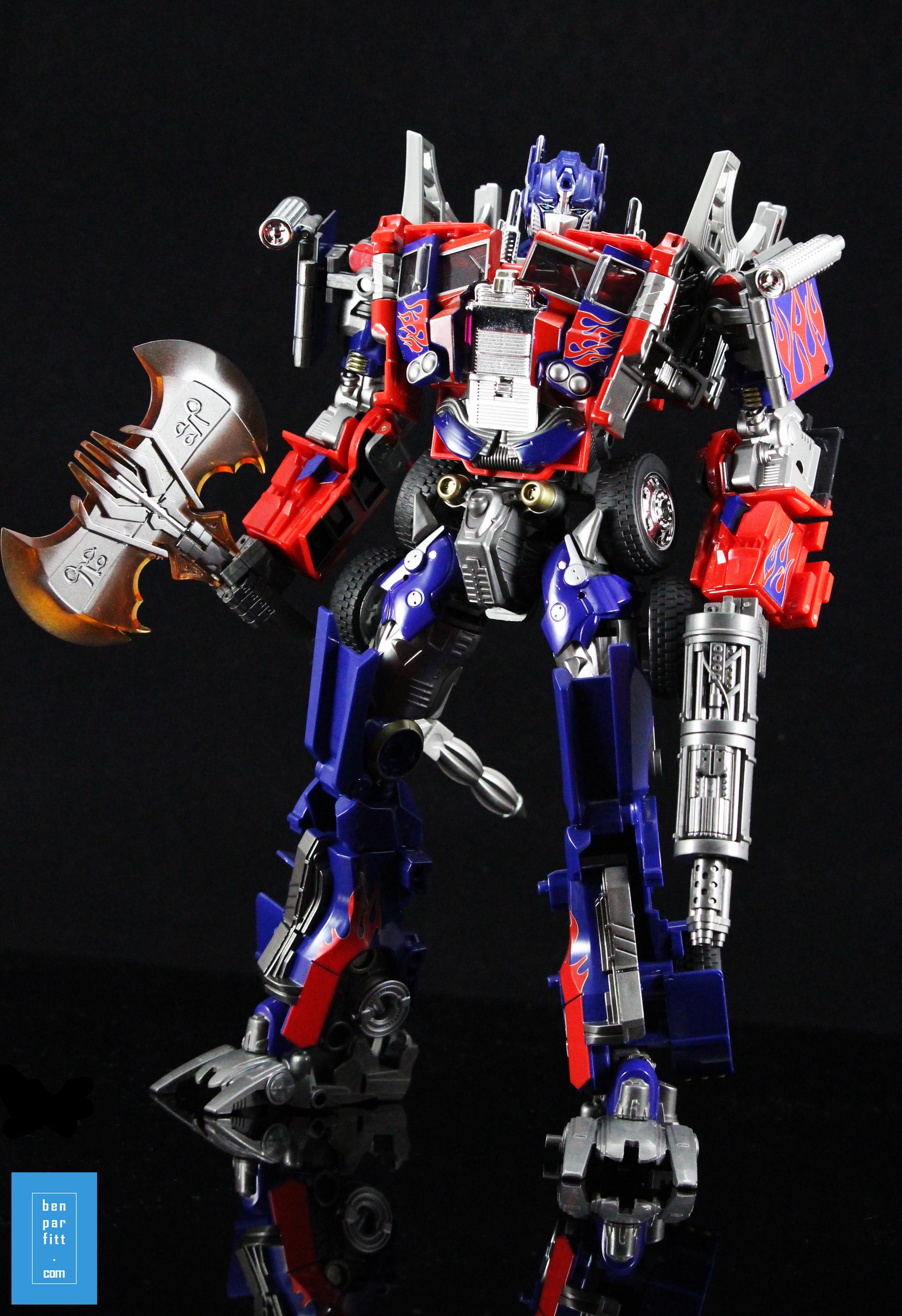 Wei Jiang Weijiang Deformation M01 Commander Oversize AOE Evasion Optimus Prime